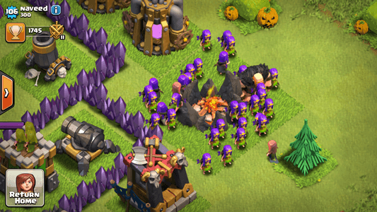 Cute Troops in Clash of Clans