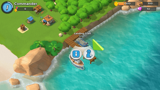 Leveling up a craft in Boom Beach.png