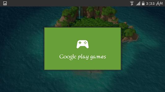 Loggin in Google Play Games