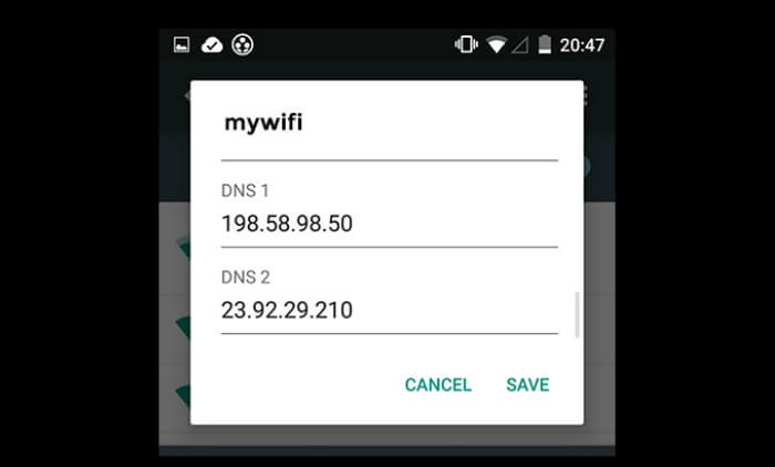 Access Blocked Websites on Android Phone and Tablet