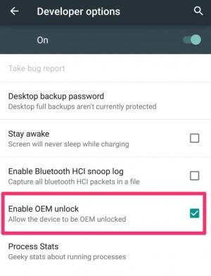 Nexus 6 OEM Unlock
