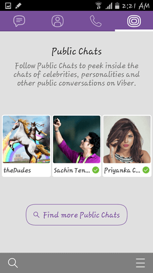 Public Chats on Viber