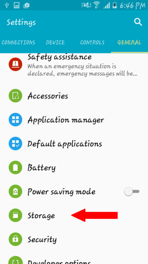 Settings overview
