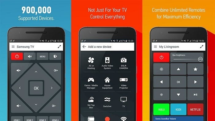 Google Home Remote TV App