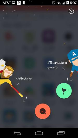 zapya create or join