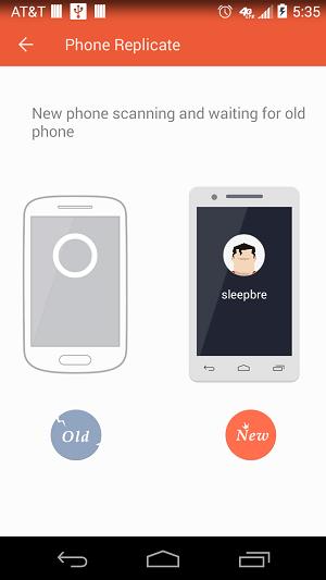 zapya phone replicate