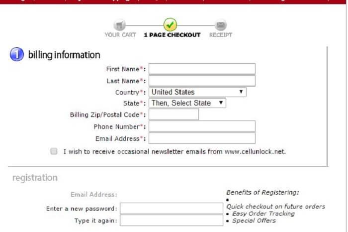 Billing-Registration