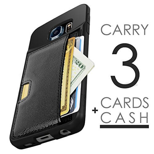 outlet store d9d0f 043e5 5 Best Wallet Cases for Samsung Galaxy S6