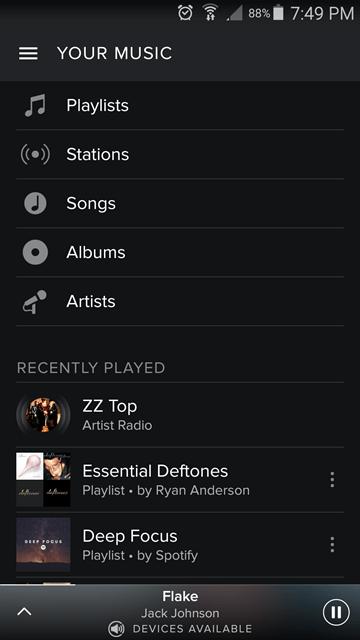 my music - spotify