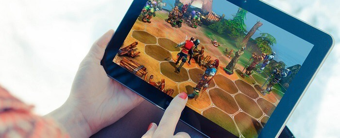 Android Tablet Games Feature Image