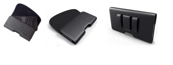Debin Leather Belt Clip case