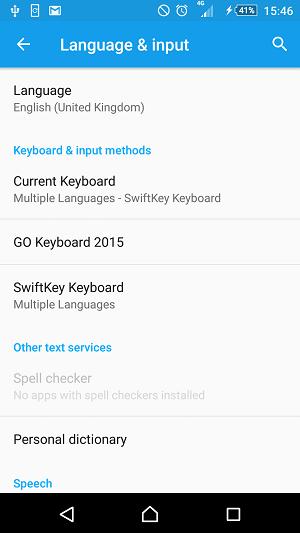 Language Keyboard