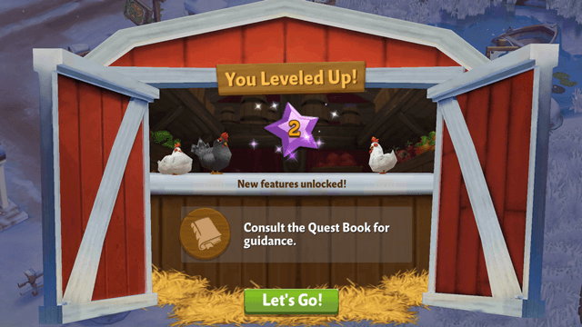 Level up - FarmVille 2