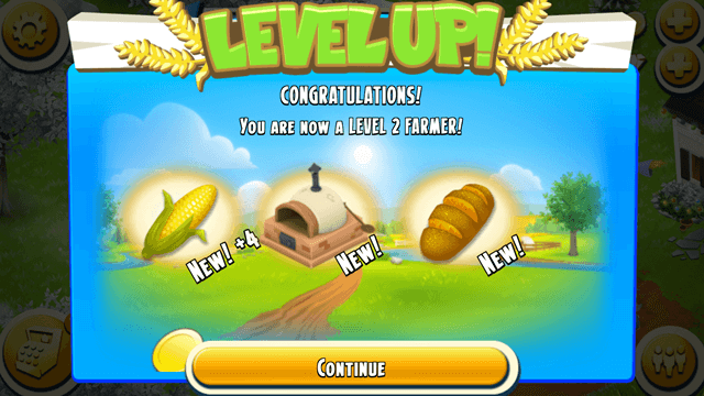 Level up - Hay day