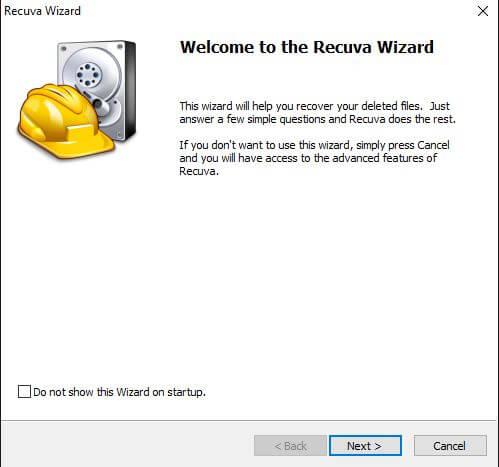 Recuva-Wizard