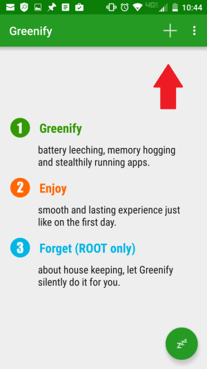 Run Greenify to Extend Battery Life of Samsung Galaxy S6