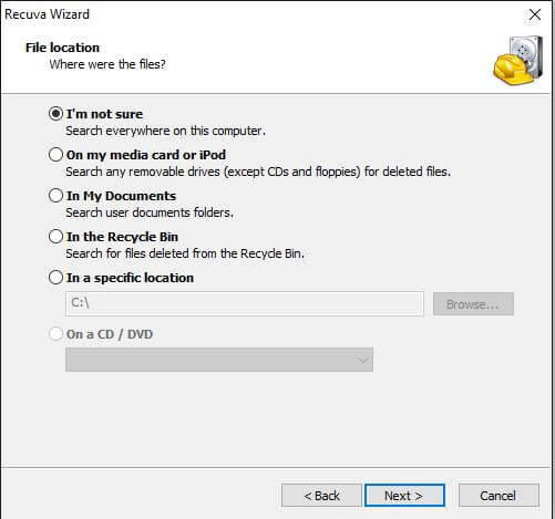 Recuva - Recover Deleted Files on Android
