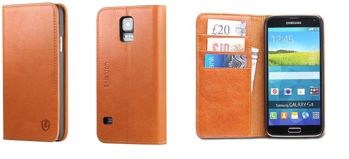 Shieldon Genuine Leather Case