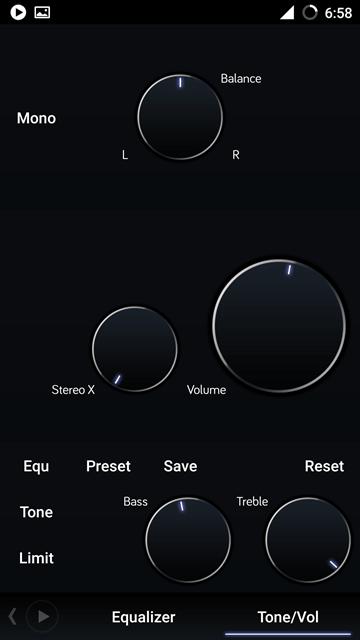 Tone n volume - PowerAmp