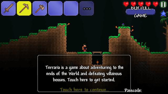 controls - terraria
