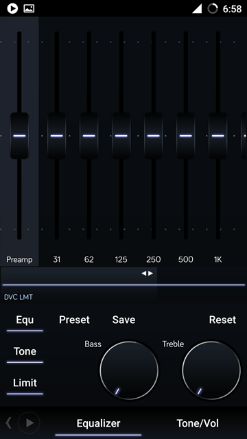 equalizer - PowerAmp