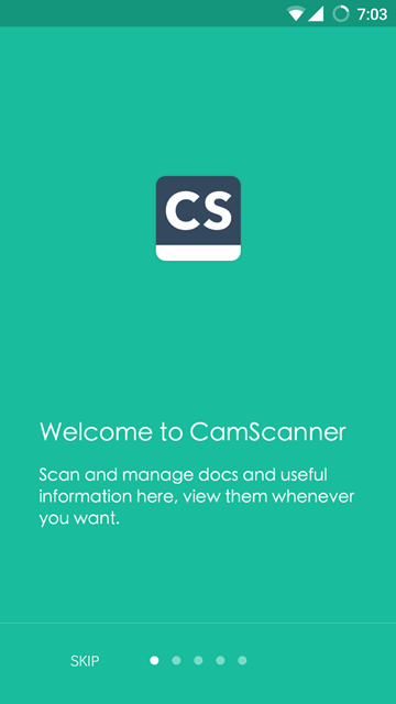 welcome - Camscanner