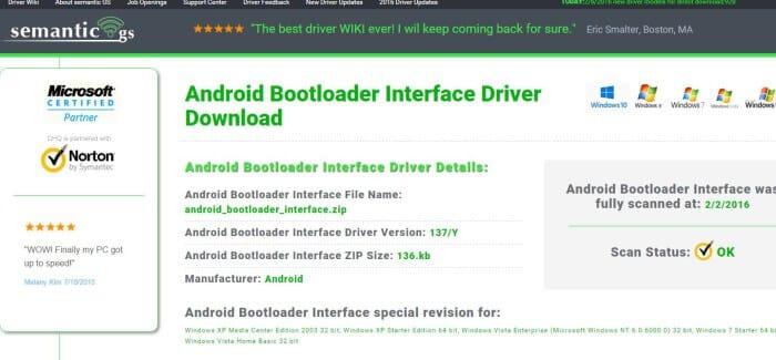 Bootloader-Driver