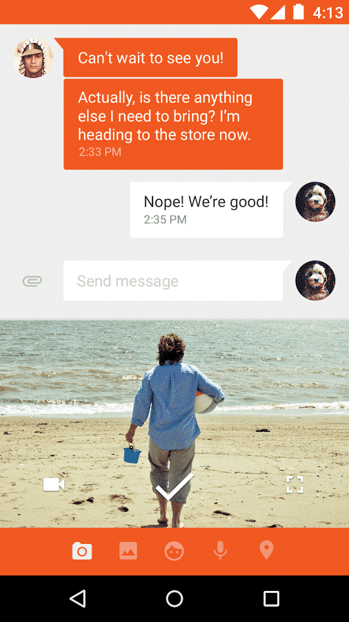 Messenger_Example