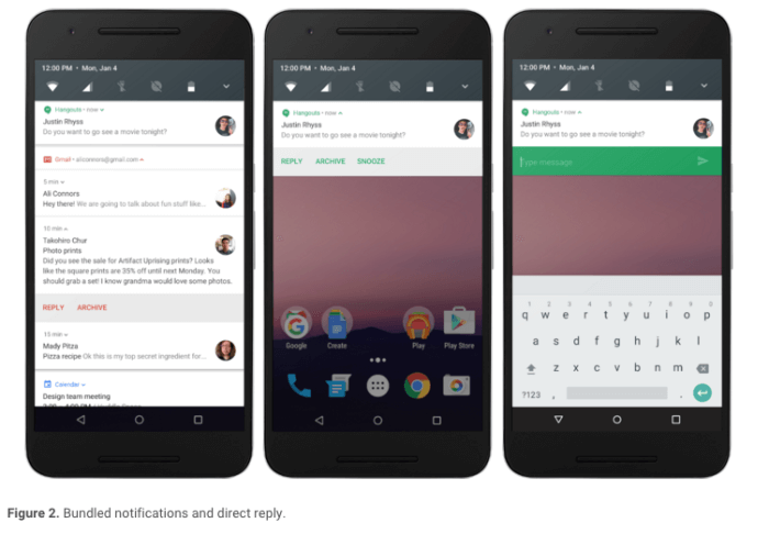 Android N Notification