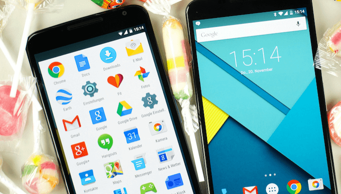 Find Lost Android App Icons
