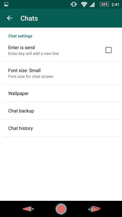 Backup Feature on WhatsApp 1
