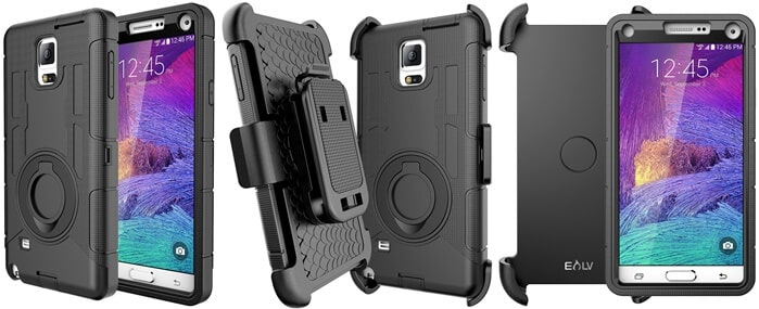 E LV Galaxy Note 4 Case Holster