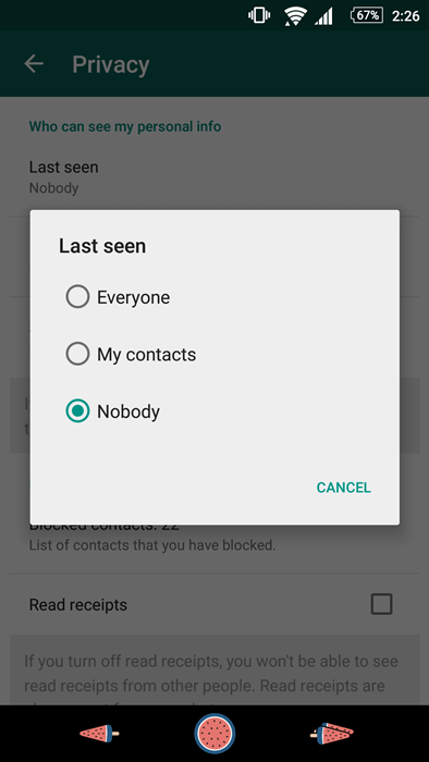 "How to Hide ""Last Seen"" on WhatsApp"