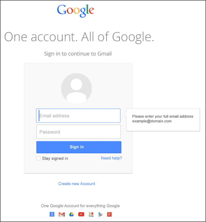 Sign-in to Google Hangouts with your google account