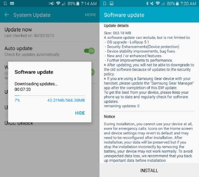 Sys Update