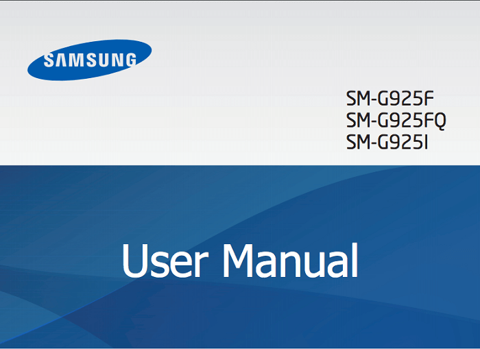 Samsung Galaxy S6 Edge User Manual