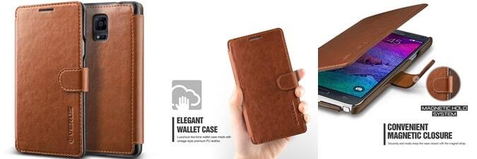 Verus Galaxy Note 4 Case Wallet