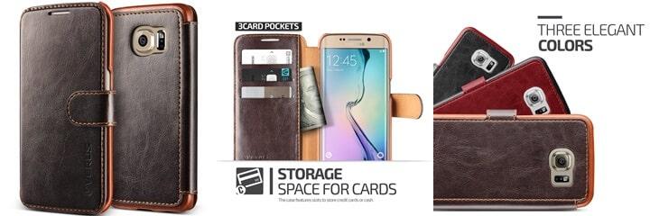 Verus Galaxy S6 Edge Wallet Case
