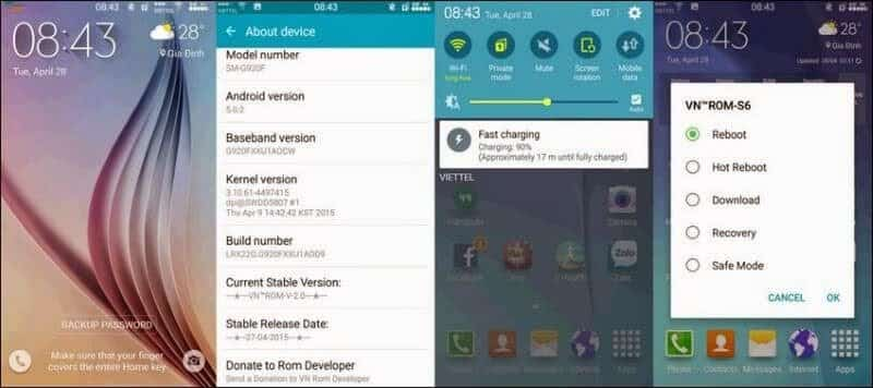 8 of the Best Custom ROMs for Samsung Galaxy S6
