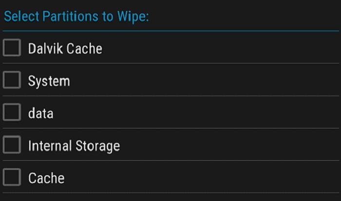 Wipe Data