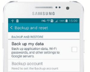 a5 backup data