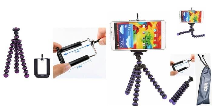Flexible Tripod for Samsung Galaxy S7
