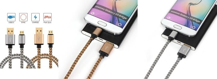 Galaxy S7 Braided Cables