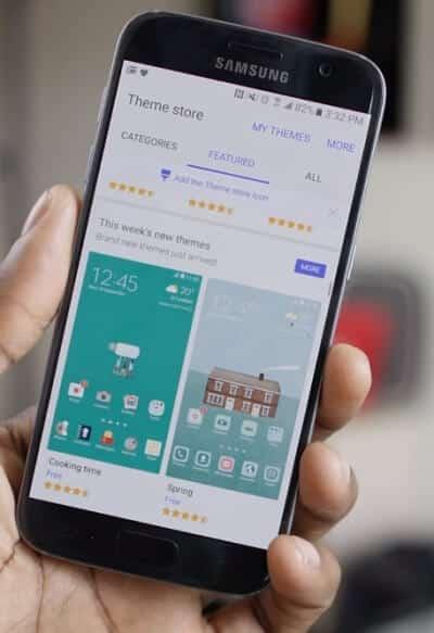 Install a Samsung Theme