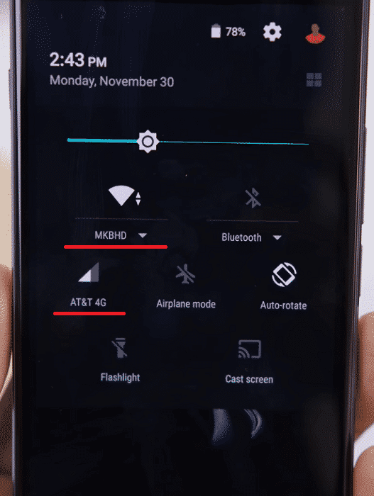 LTE and Wifi - oneplus x
