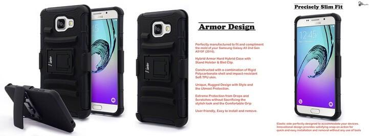 NageBee Impact Resistant Armor Case