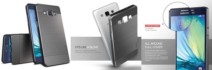 OBLIQ Galaxy A5 Case