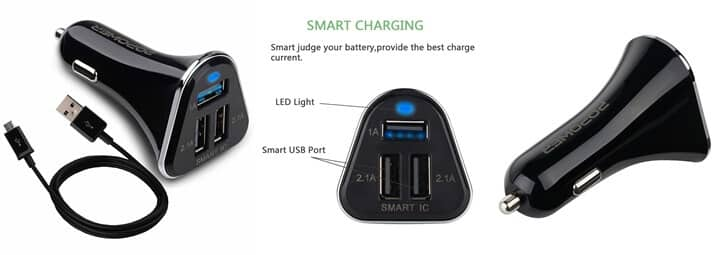 Popower 3 Port Charger