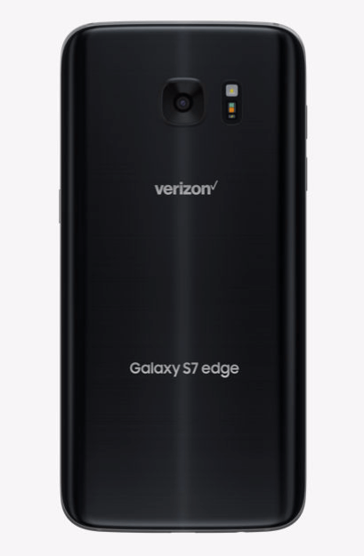 back of S7 edge