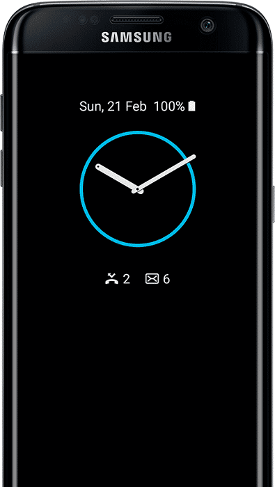 galaxy-s7_shortcut - clock